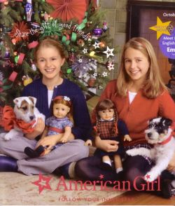 "American Girl cover featuring ""Fox Valley"" puppies"